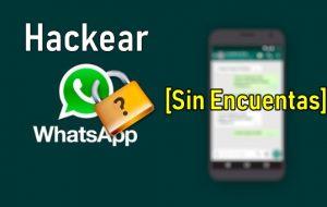como hackear whatsapp sin verificacion